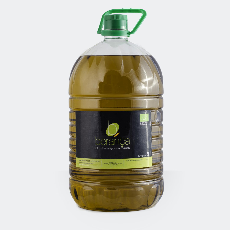 Bouteille d'huile d'olive bio